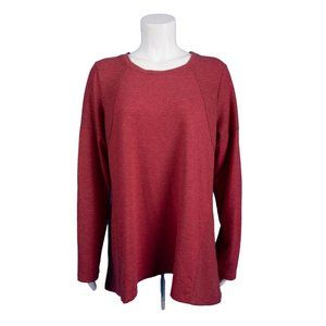 LOGO Lori Goldstein Lounge Womens Shirt Top L